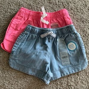 🌟🆕🌟 Carter's Easy Pull-On Twill Shorts